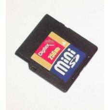 Карта памяти miniSD 256 Mb Digitex