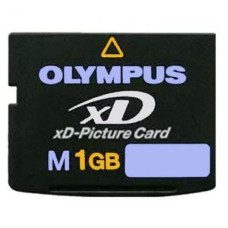 Карта памяти xD 1 Gb Olympus xD-Picture Card MXD1GM3