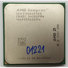 Процессор Socket 754 AMD Sempron 3100+ 1.8 GHz / 62 Вт