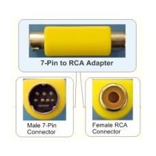 Переходник S-Video (7 pin) to RCA