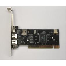 Контроллер PCI IEEE 1394 6p 2+1 port / IEEE 1394 4p 1 port