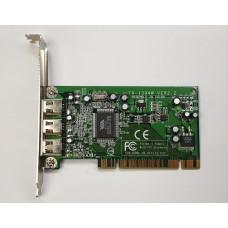 Контроллер PCI IEEE 1394 6p 3 port