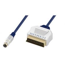 Кабель LUXMANN SVHS Plug - SCART Plug 2.0m