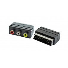 Переходник SCART to RCA x3