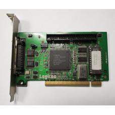 Контроллер PCI SCSI 50pin Logitec LHA-521U 52230002-0 Ver2.01