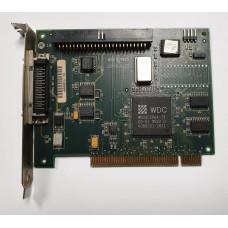 Контроллер PCI SCSI 50pin WD7193 WDC WD33C296A-ZX 60-600582-003 REV A