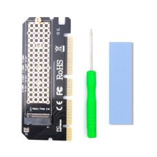 Контроллер PCI-E x16 to M.2 SSD 2280 (NVMe) новый