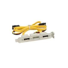 Планка eSATA x2 / molex (без кабелей)