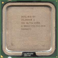 Процессор LGA 775 Intel Celeron D 336 2,8 GHz 256/533