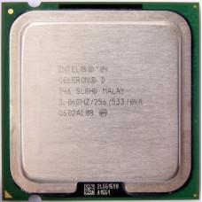 Процессор LGA 775 Intel Celeron D 346 3,06 GHz 256/533