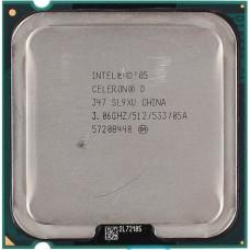 Процессор LGA 775 Intel Celeron D 347 3,06 GHz 512/533