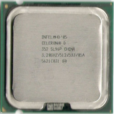 Процессор LGA 775 Intel Celeron D 352 3,2 GHz 512/533