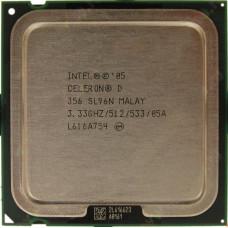 Процессор LGA 775 Intel Celeron D 356 3,33 GHz 512/533