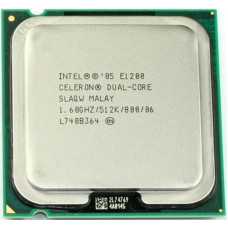 Процессор LGA 775 Intel Celeron Dual-Core E1200 1,6 GHz 512/800