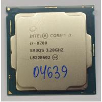 Процессор LGA 1151 Intel Core i7-8700 3.2 GHz 12M/65 Вт