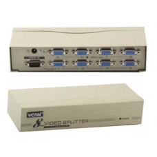 Разветвитель видеосигнала VGA vpro DD128 Splitter VS-98A (1 to 8 VGA Duplicator)