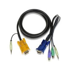 Кабель для KVM устройства с аудио (VGA to PS/2)