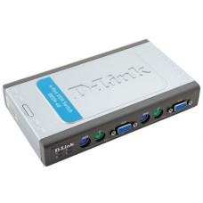 KVM переключатель D-Link DKVM-4K (4 port, VGA, PS/2)