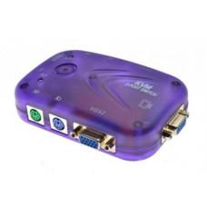 KVM переключатель KYS-102 (2 port, VGA, PS/2)