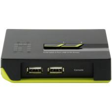 KVM переключатель LevelOne KVM-0222 (2 port, VGA, USB)