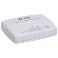 Switch 5 port Acorp HU5DP 10/100 Mbps