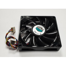 Вентилятор 80x80x15mm Cooler Master DF0801512RFUN (4pin PWM) новый