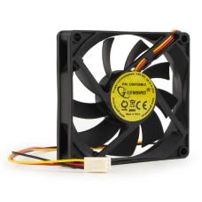 Вентилятор 80x80x15mm Gembird D8015SM-3 (3pin) новый
