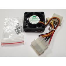 Вентилятор 40x40x10mm KEEP (3pin+molex) новый
