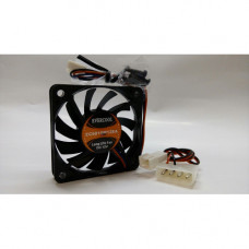 Вентилятор 60x60x10mm EVERCOOL EC6010M12EA (3pin + переходник на molex) новый