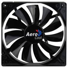 Вентилятор 140x140x25mm AeroCool DARK FORCE Black (3pin+molex) новый