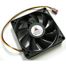 Cooler 80x80x18mm GlacialTech (3pin) б/у