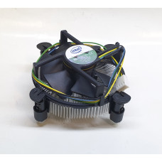 Кулер 1150/1151/1155/1156 Intel E33681-001 (80x80/4pin PWM/AL) новый
