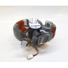 Кулер 754/939/AM2/AM2+/AM3/AM3+/FM1/FM2/FM2+ ZALMAN (92x92/3pin/AL+Медь) новый