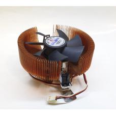 Кулер 754/939/AM2/AM2+/AM3/AM3+/FM1/FM2/FM2+ ZALMAN (92x92/3pin/AL+Медь)