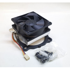 Кулер AMD/Intel COOLER BOSS V80 (80x80/3pin/AL) новый