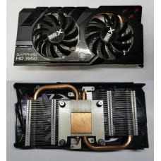 Охлаждение для видеокарт (2 coolers/4pin PWM) AL+Медь DUAL-X SAPPHIRE HD 7850
