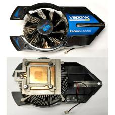 Охлаждение для видеокарт (2pin) Al+Медь VAPOR-X Radeon HD 5770
