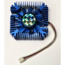 Охлаждение для видеокарт крепление 55 mm (2pin/3pin) Al в ассортименте