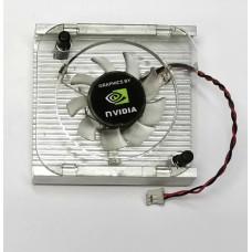 Охлаждение для видеокарт крепление 65 mm (2pin/3pin) Al в ассортименте