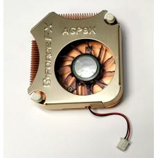 Охлаждение для видеокарт крепление 80 mm (2pin/3pin) Медь в ассортименте