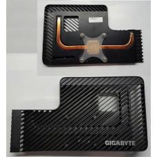 Радиатор - охлаждение для видеокарт (AL + Медь) Gigabyte