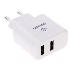 Блок питания USB DC 5V 2.1A (and 1A) DEXP MyHome 10W XM