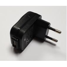 Зарядное устройство USB HUONIU HNB050100E 5V 1A (Black / White)