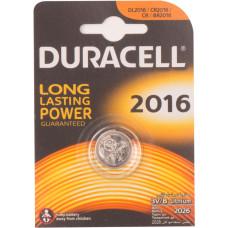 Батарейка CR2016 Duracell 3V (новая)