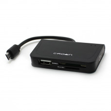 Card Reader USB 2.0 Crown CMCR-B13 (новый)