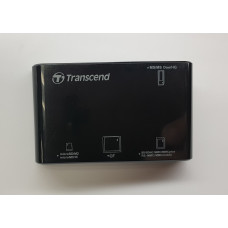 Card reader USB 2.0 Transcend КВЗ8 (SD, microSD) б/у
