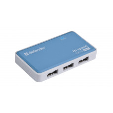 USB 2.0 HUB 4 port Defender Quadro Power (б/у)
