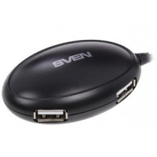 USB 2.0 HUB 4 port Sven HB-401 (Black) новый