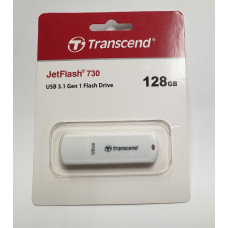 USB Flash 3.1 Gen 1 128 Gb Transcend JetFlash 730 TS128GJF730 (новая/на гарантии)